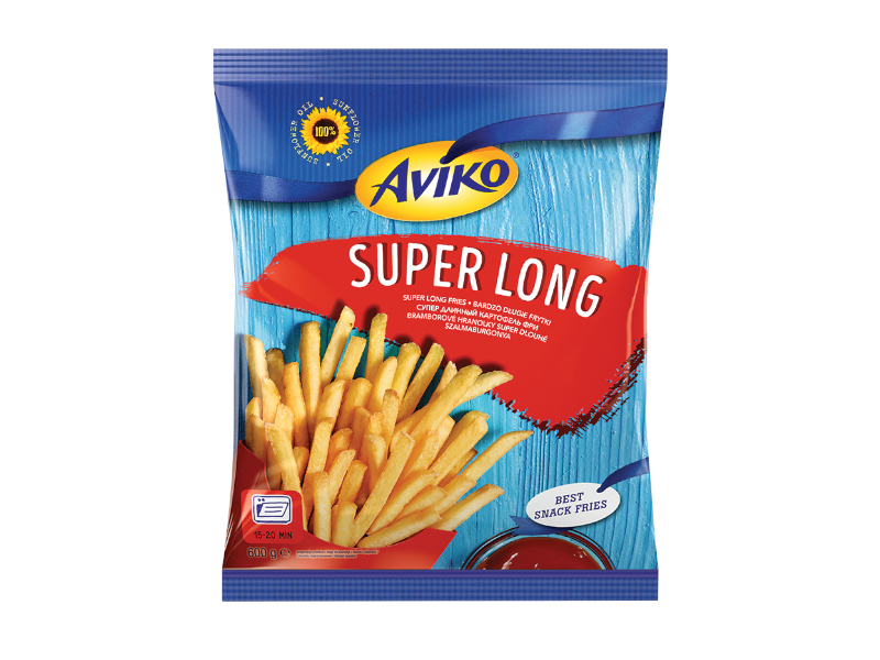 Aviko Hranolky do trouby Super Long mraž. 600g