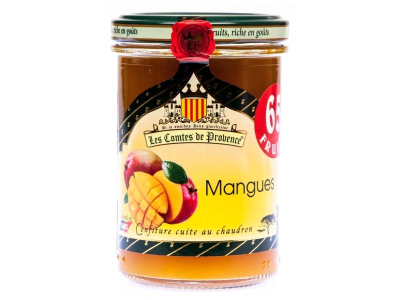 Les Comtes de Provence Džem Mango 240g