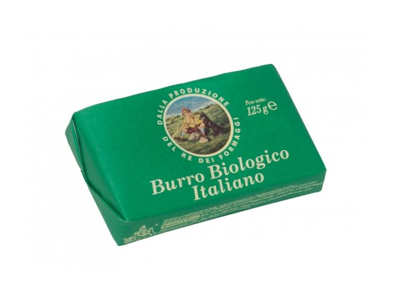Burro Biologico Italiano BIO Máslo, 125g