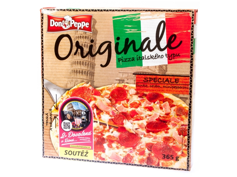 Don Peppe Originale Pizza Speciale mraž. 365g