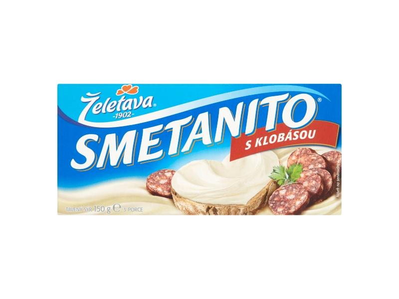 Želetava Smetanito S klobásou 3 ks, 150g