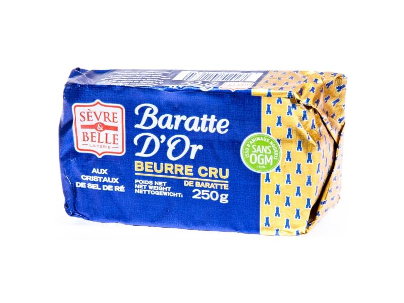 Sévre & Belle Baratte D´or Máslo nepasterizované solené 250g