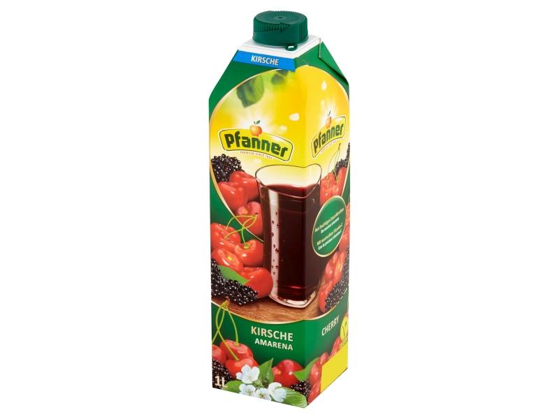 Pfanner Ovocný nápoj s višňovou šťávou 1l