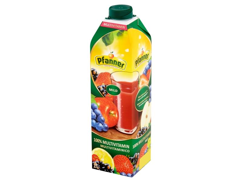 Pfanner 100% multivitamin ovocno-zeleninová šťáva 1l