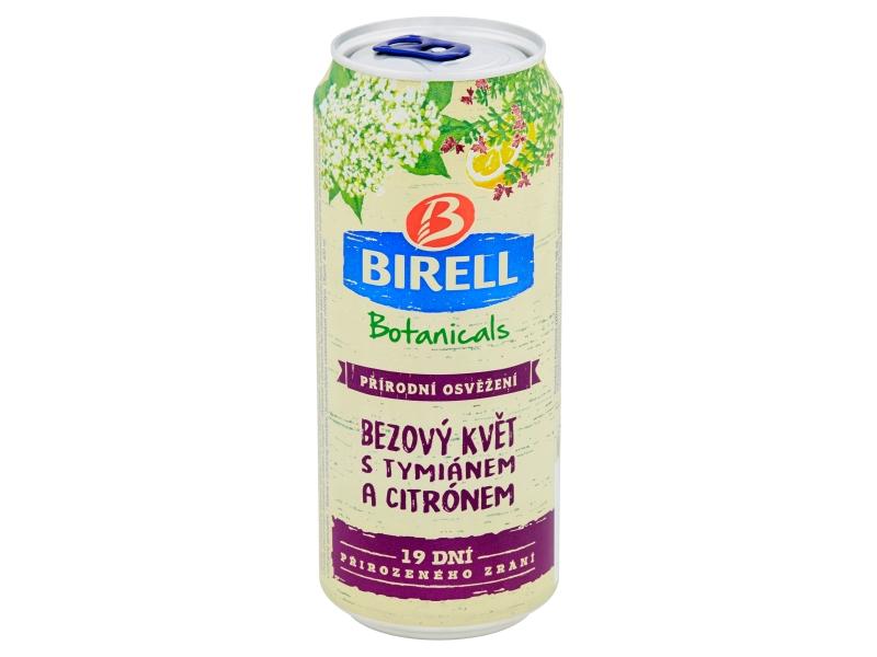 Birell Botanicals Bezový květ s tymiánem a citrónem 0,4l, plech