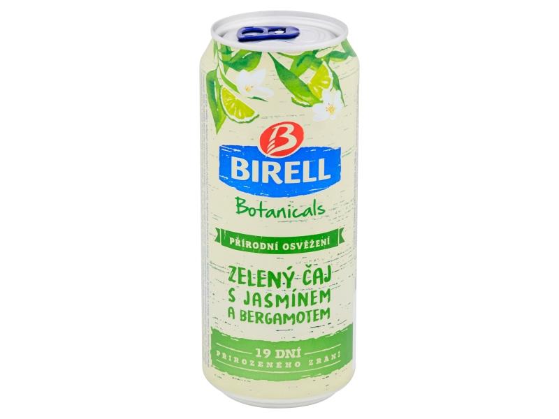 Birell Botanicals Zelený čaj s jasmínem a bergamotem 0,4l, plech