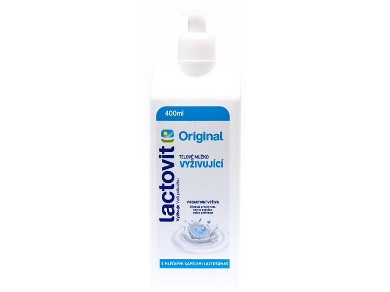 Lactovit Original Tělové mléko vyživující 400ml