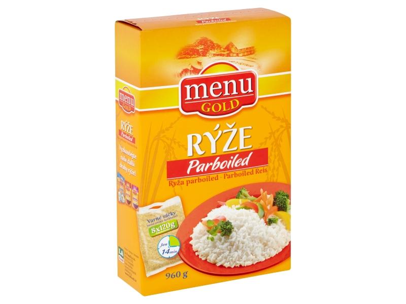 Menu Gold Rýže parboiled 8 varných sáčků, 960g