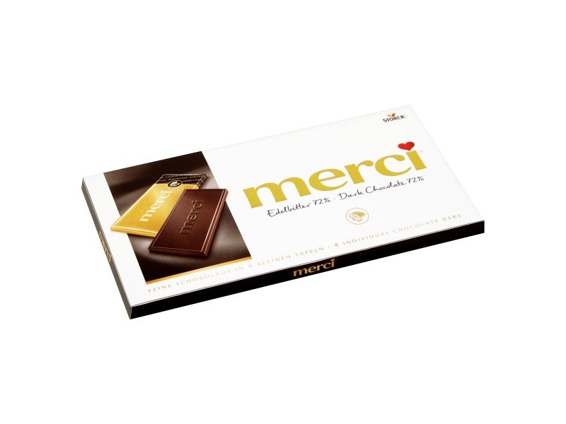 Storck merci Hořká čokoláda 100g