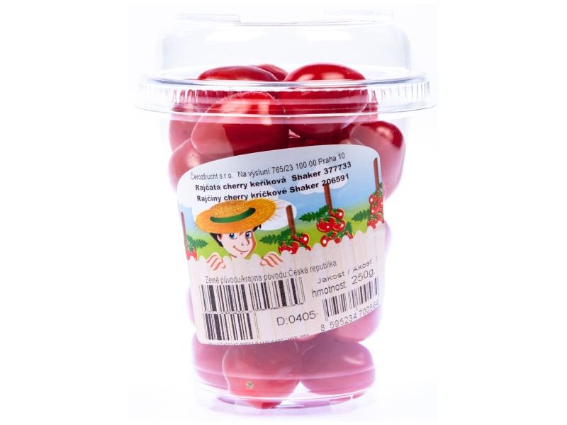 Rajčata cherry datlová CZ, shaker 250g