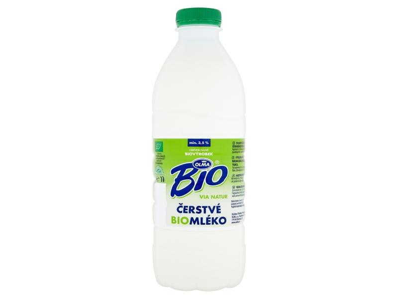 Olma Mléko čerstvé 3,5% BIO 1l