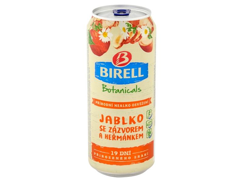 Birell Botanicals Jablko se zázvorem a heřmánkem 0,4l, plech