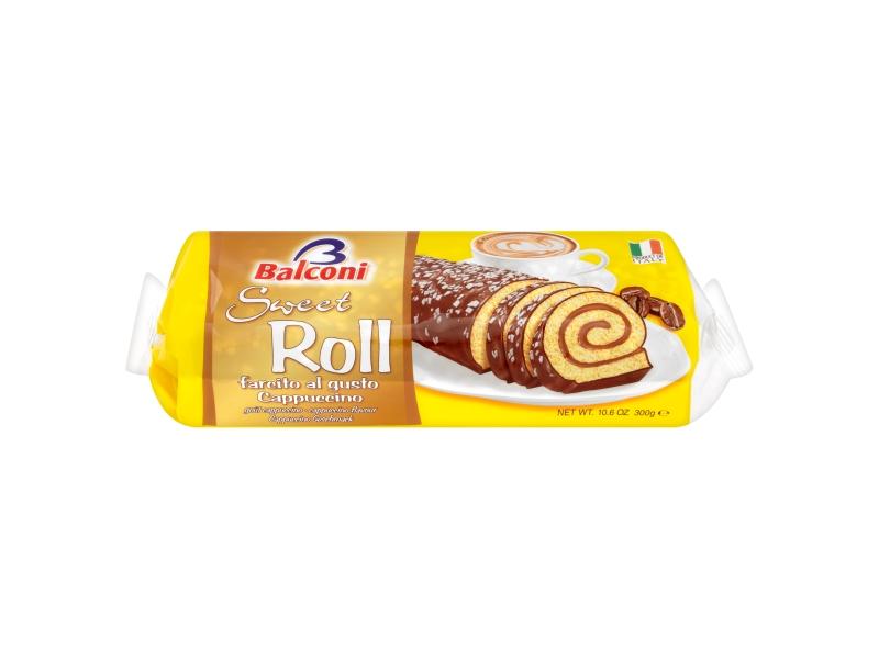 Balconi Sweet Roll max roláda cappuccino 300g