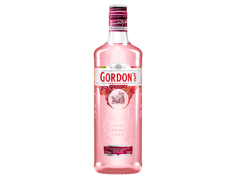 Gordon´s Premium Pink Gin 37,5%, 700ml