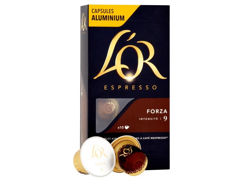 L´OR Espresso Forza 9 - 10 hliníkových kapslí