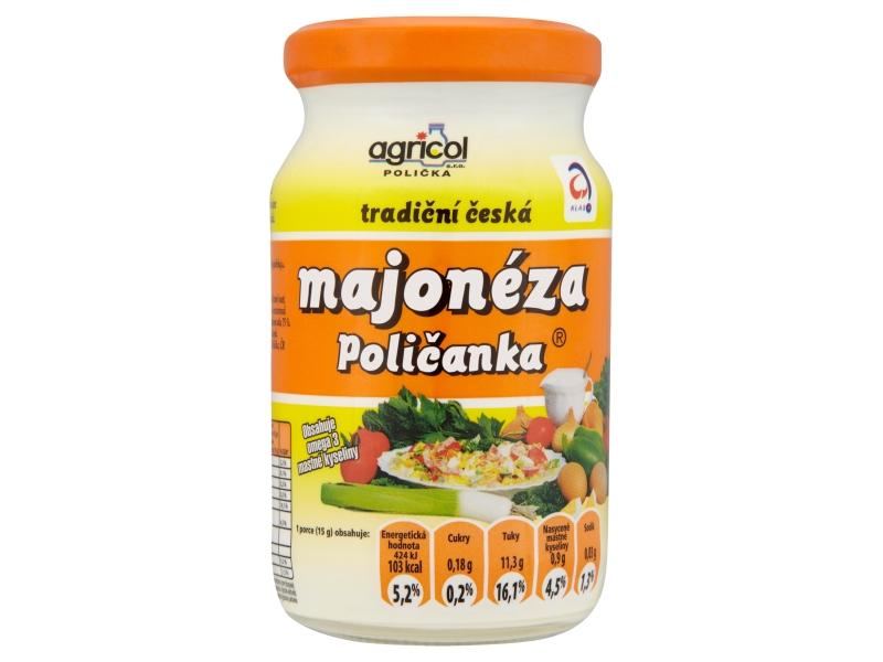 Agricol Poličanka majonéza 250ml
