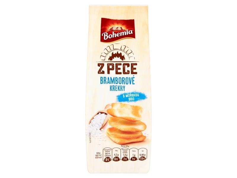 Bohemia Z pece bramborové krekry s mořskou solí 100g