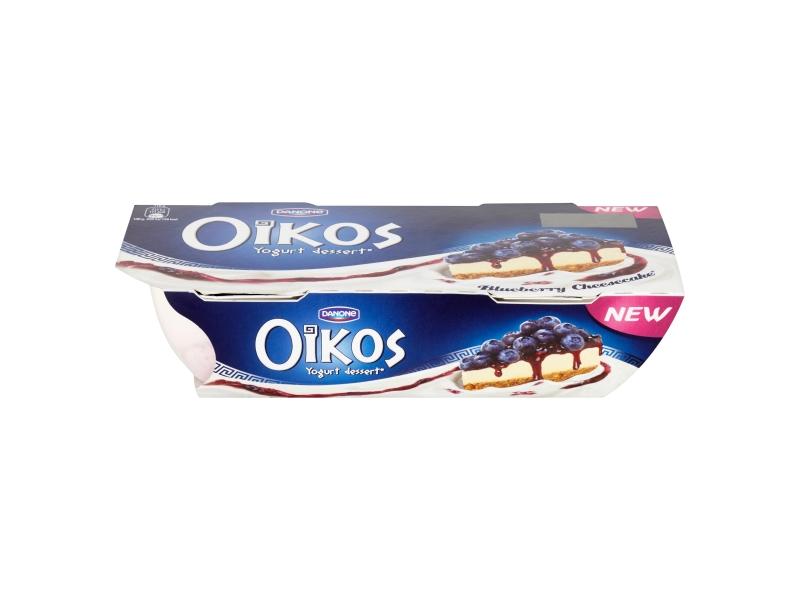 Danone Oikos Jogurt borůvkový cheesecake, 2x110g