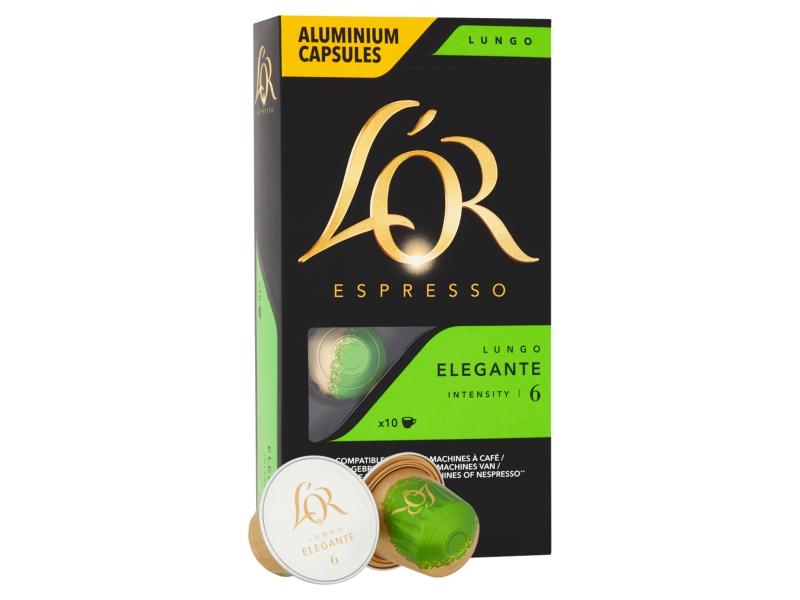 L´OR Espresso Elegante 6 - 10 hliníkových kapslí
