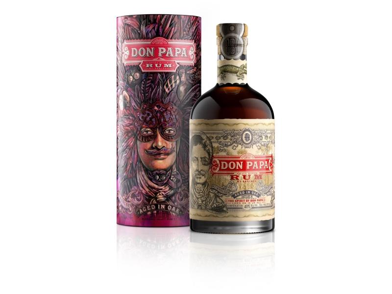 Don Papa Mascara Rum 40% 700ml, tuba