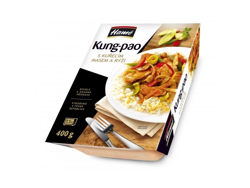 Hamé Kuřecí směs Kung Pao s rýží 450g