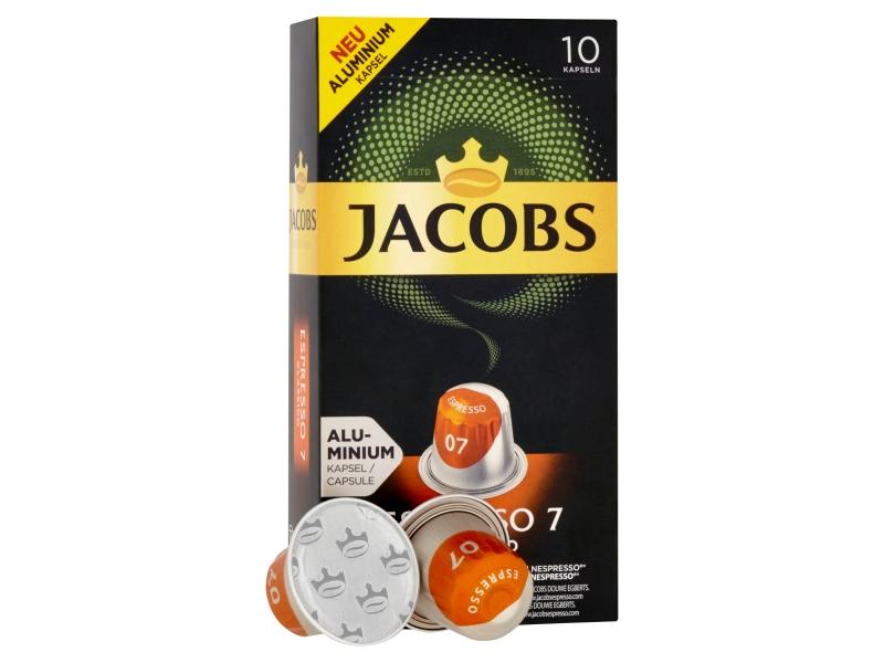 JACOBS Espresso Classico 7 - 10 hliníkových kapslí