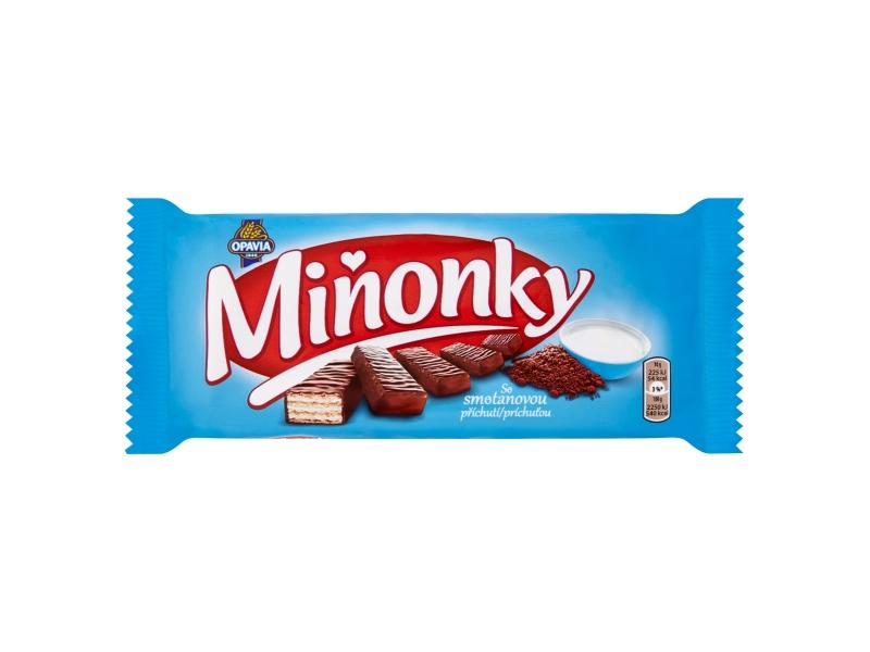 Opavia Miňonky smetanové 50g