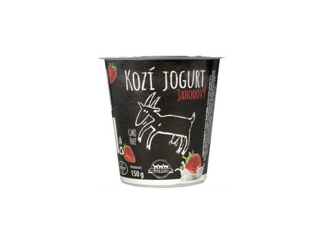 Bon Lait Kozí jogurt jahodový 150g