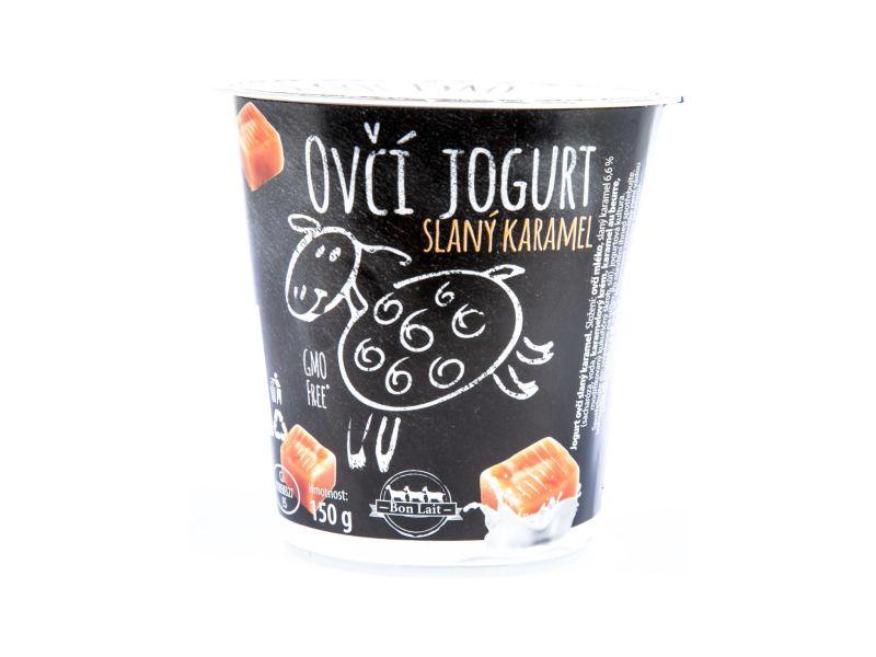 Bon Lait Ovčí jogurt slaný karamel 150g