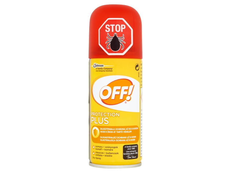 OFF! Protection Plus rychleschnoucí sprej 100ml