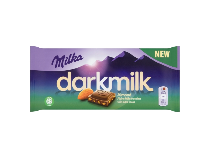 Milka Darkmilk Almond 85g
