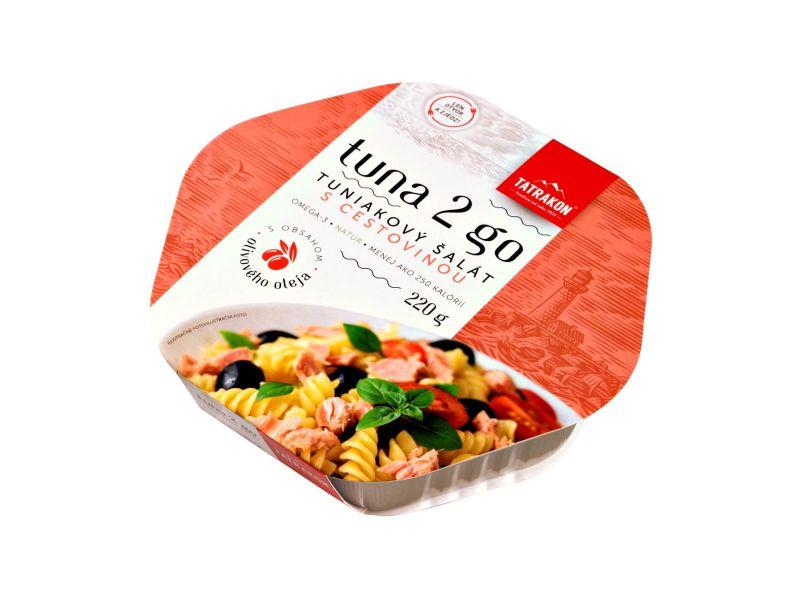 TATRAKON Tuna 2 Go Tuňákový salát s těstovinami 220g