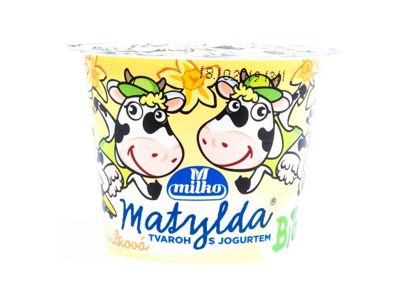 Milko Matylda Bio vanilková Tvaroh s jogurtem 90g