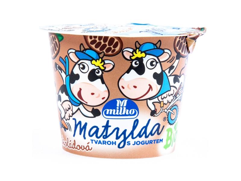 Milko Matylda Bio čokoládová Tvaroh s jogurtem 90g