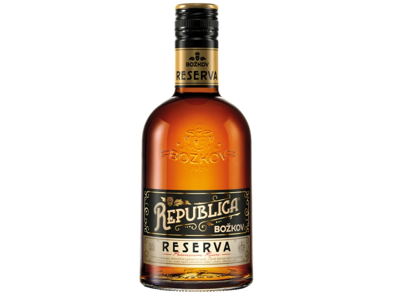Božkov Republica RESERVA 40% 500ml