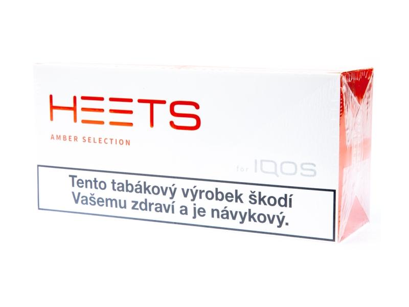 HEETS Amber Selection pro IQOS, karton 10x20ks