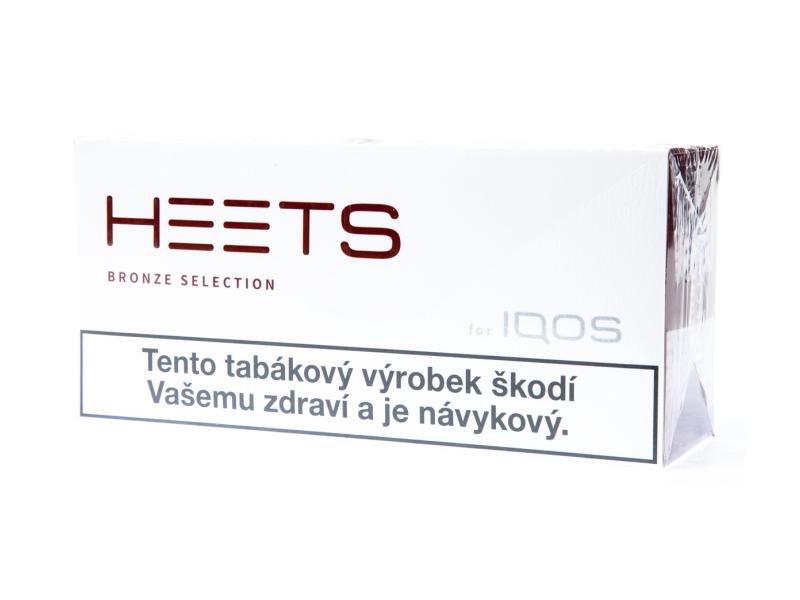 HEETS Bronze Selection pro IQOS, karton 10x20ks