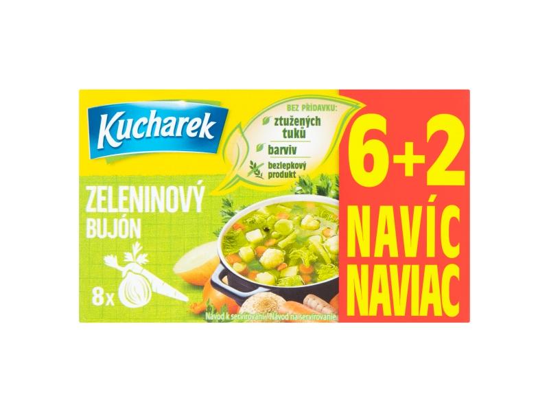 Kucharek Zeleninový bujón 8 kostek 80g