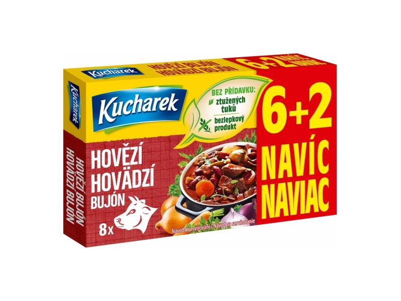 Kucharek Hovězí bujón 8 kostek 80g