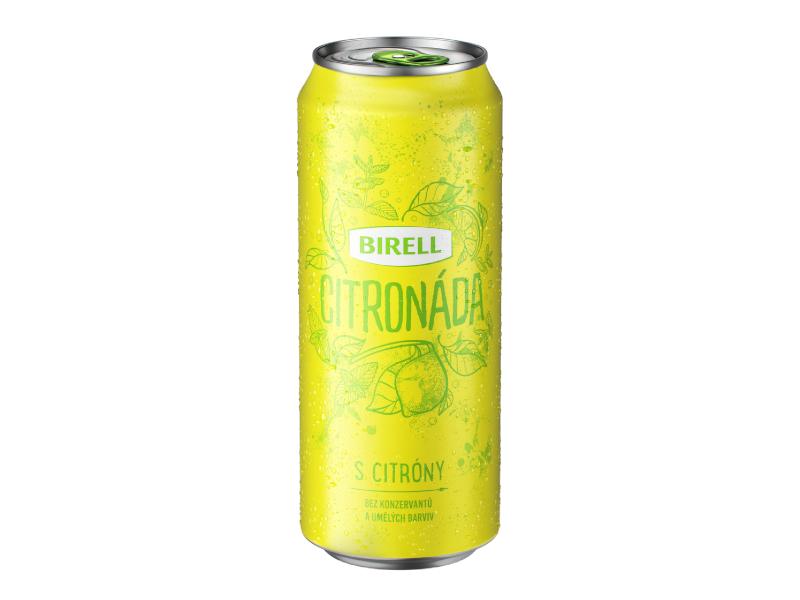 Birell Citronáda s citróny nealko pivo 500ml, plech