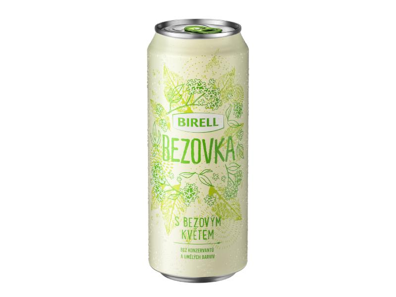 Birell Bezovka s bezovým květem nealko pivo 500ml, plech