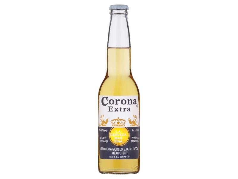 Corona Extra Pivo ležák světlý 0,355l, sklo