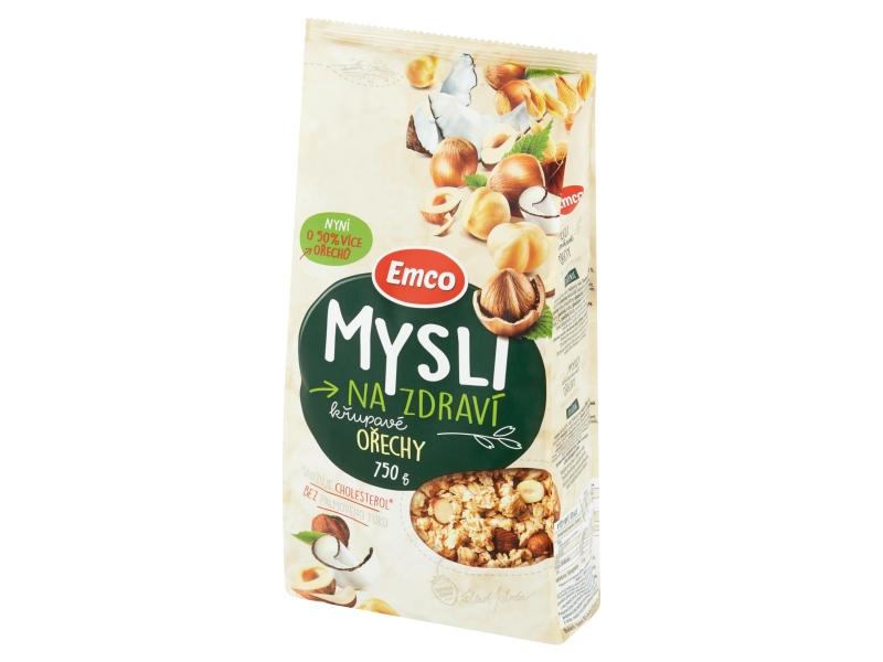 Emco Mysli na Zdraví Křupavé ořechy 750g