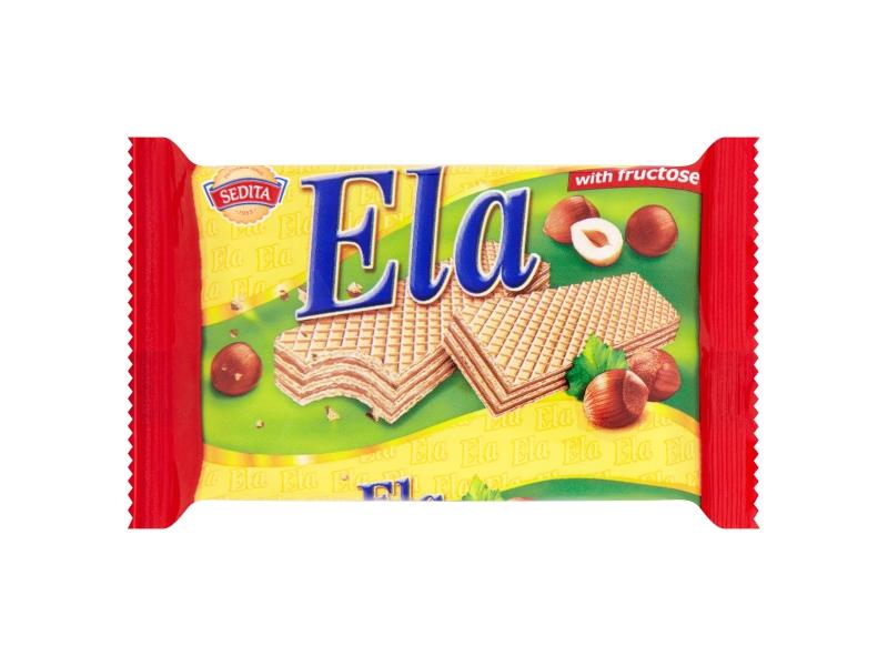 Sedita Ela DIA Oplatky s krémovo-lískoořechovou náplní 40g