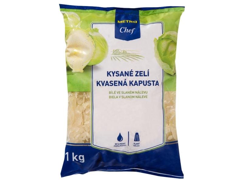 Metro Chef Kysané zelí bílé 1kg