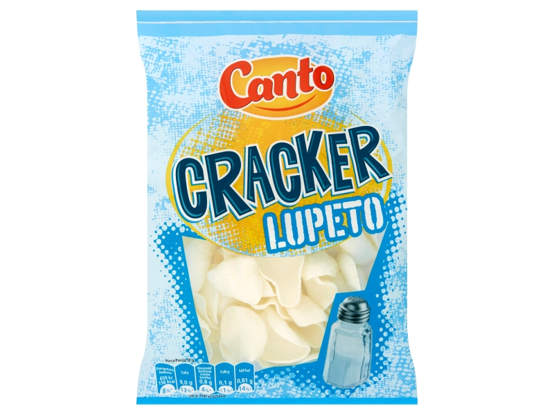 Canto Cracker Lupeto solený 130g