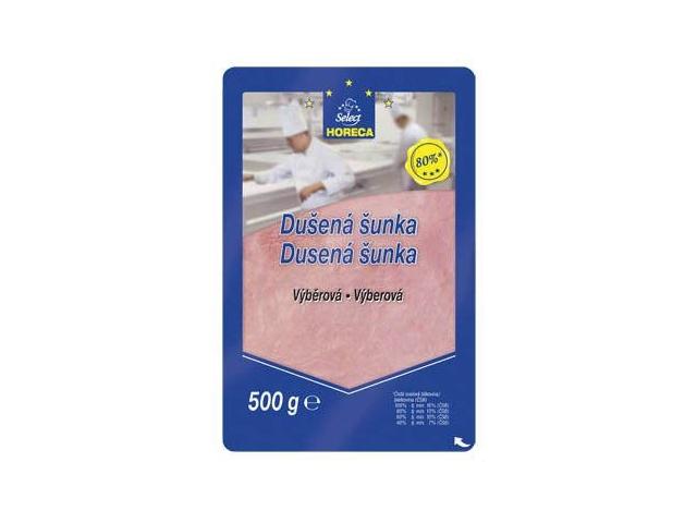 Horeca Select Šunka dušená výběrová 80%, plátky 500g