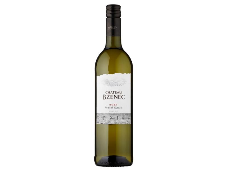 Chateau Bzenec Ryzlink Rýnský, suché bílé víno 0,75l