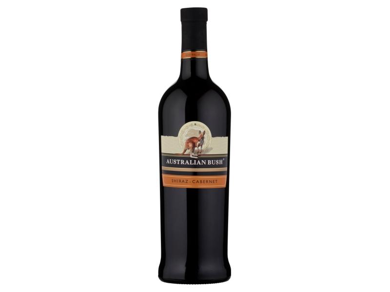 Australian Bush Shiraz-Cabernet červené víno suché 750ml