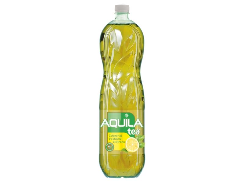 Aquila Tea Zelený čaj se šťávou z citronu 1,5l